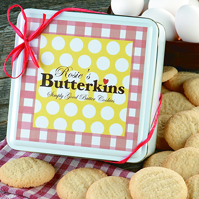 Rosie's Original Butterkins Tin