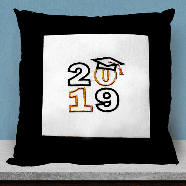 Handmade Graduation Pillow