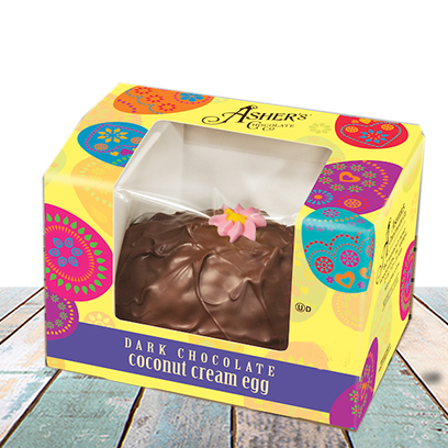 Ashers Coconut Cream Egg, 4zDC