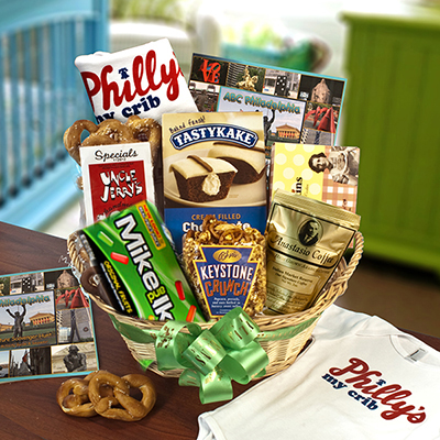 Philly's My Crib Baby Basket