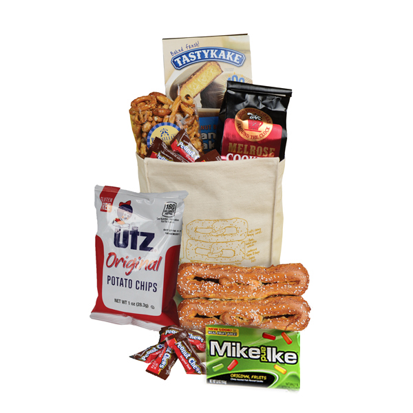 Philly Lunch Bag w/ Soft Pretzel- Heat Safe