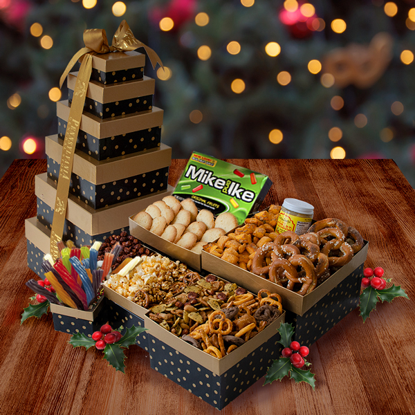 PA Deluxe Snack Tower-- Heat Safe