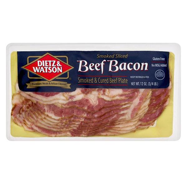 Dietz & Watson Beef Bacon 3/12 oz