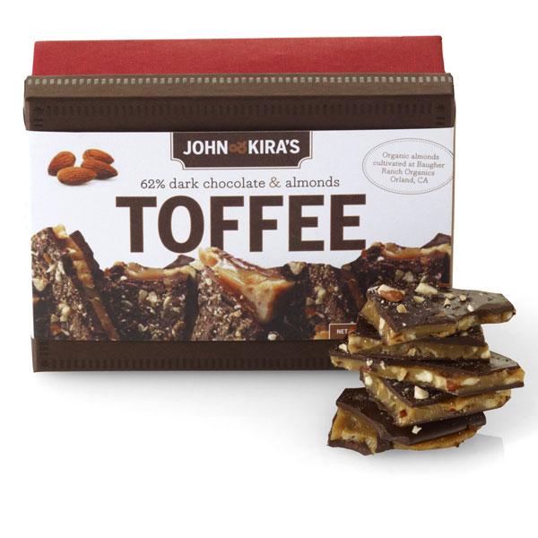 John & Kira's Almond Toffee