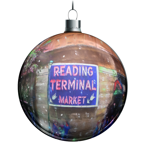 Reading Terminal Market Ornament