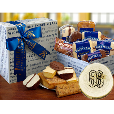 Tastykake Sampler with Mason Made Ornament