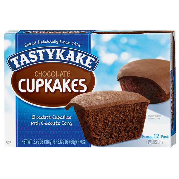 Tastykake-6 Chocolate Cupcakes