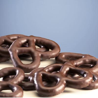 Dark Chocolate Covered Pretzel Gift Box