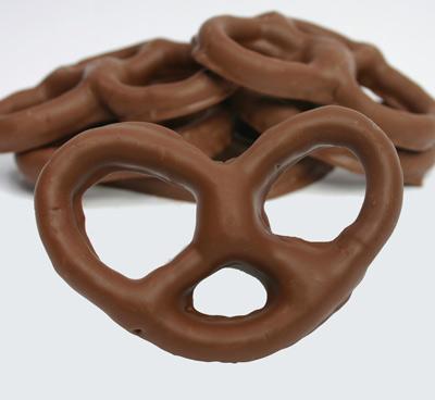 Milk Chocolate Covered Pretzel Gift Box