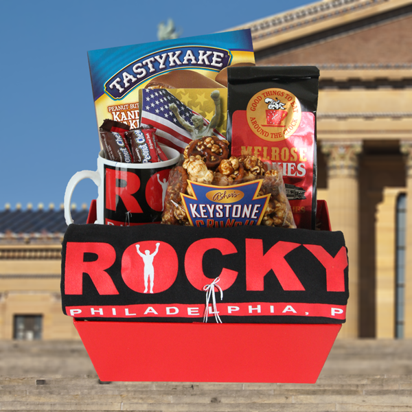 Rocky Basket with<br> T-Shirt