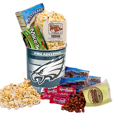 Philadelphia Eagles Fan Snack Tin Summer Version