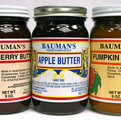 Bauman's Fruit Butters