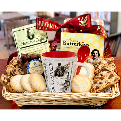 Philadelphia Coffee House Basket --