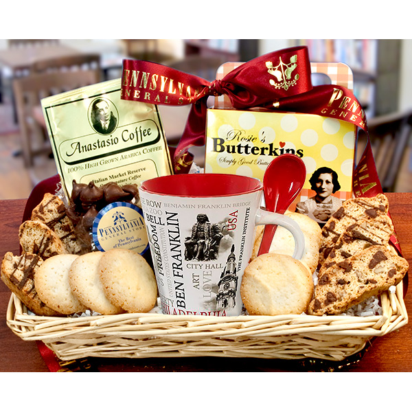 Philadelphia Coffee House Basket --