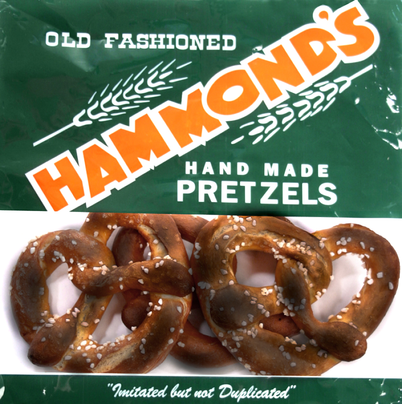Hammond's Dark Pretzels, 8 oz. bag