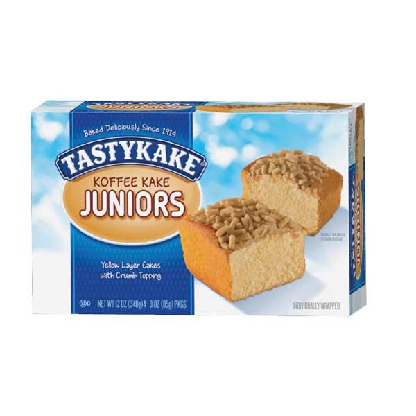 Tastykake Koffee Kake Juniors 4 pk