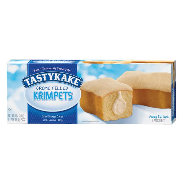 Tastykake Creme Filled Butterscotch Krimp