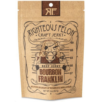 Bourbon Franklin Craft Jerky