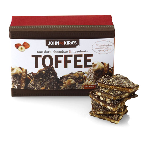 John & Kira's Hazelnut Toffee