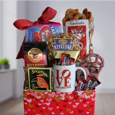 Philly Be Mine Gift Basket