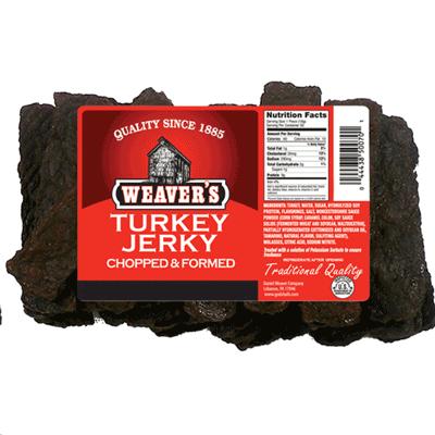 Weaver's Turkey Jerky  1 lb