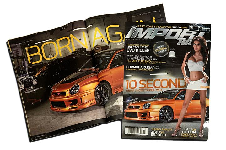 P&L Motorsports in Import Tuner Magazine