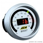 AEM Boost Gauge - Digital Display - 30 PSI