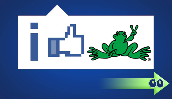 Peace Frogs on Facebook