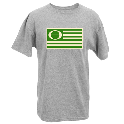 Beyond The Pond Adult Eco Flag Short Sleeve T-Shirt