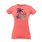 Peace Frogs Junior Surf Supply Frog Vintage Heathered Short Sleeve T-Shirt