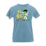 Peace Frogs Ladies Frog Fever Garment Dye T-Shirt