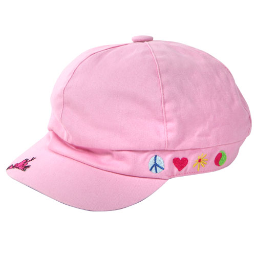 Pink Cabel Hat