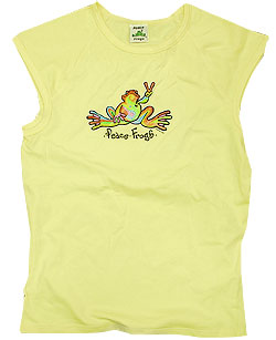 Peace Frogs Junior Retro Muscle T-Shirt