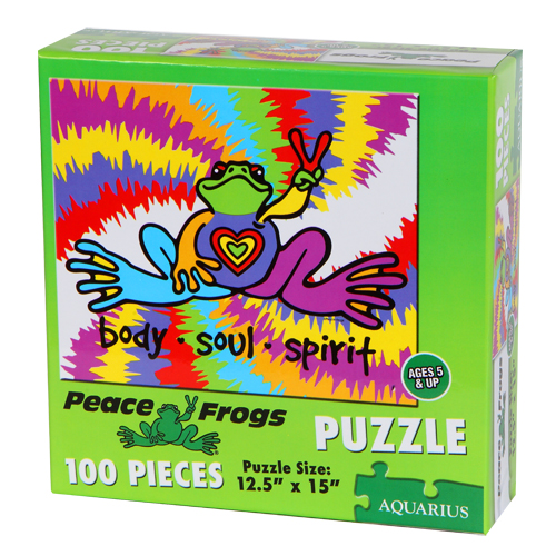 Peace Frogs Puzzle