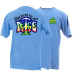 Peace Frogs Adult Spread the Peace Frog Short Sleeve T-Shirt