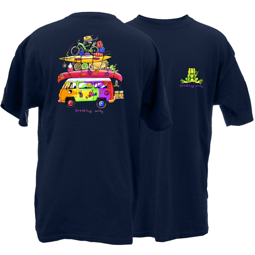 Peace Frogs Adult Loaded Van Short Sleeve T-Shirt