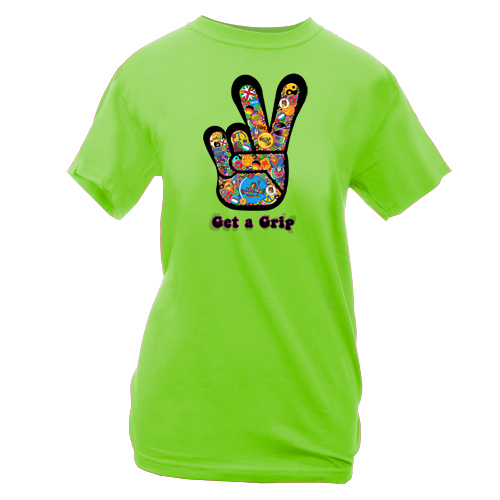 Peace Frogs Ladies Get A Grip Short Sleeve T-Shirt