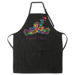 Peace Frogs Apron