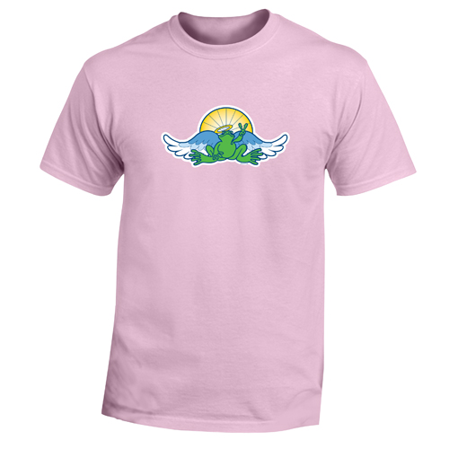 Peace Frogs Adult Angel/Sun Short Sleeve T-Shirt