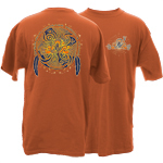 Peace Frogs Adult Native Garment Dye Short Sleeve T-Shirt