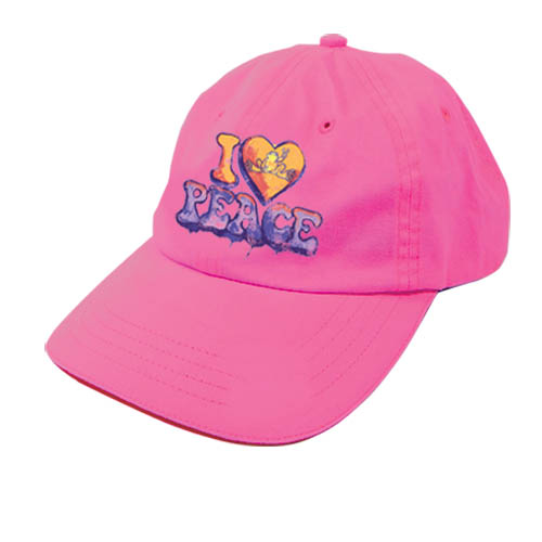 I Heart Peace Frogs Baseball Hat