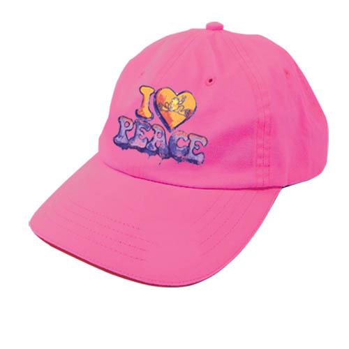 I Heart Peace Frogs Baseball Hat