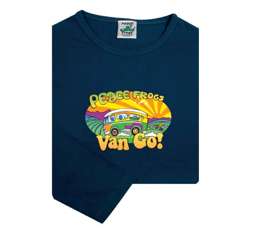 Peace Frogs Junior Van Go Long Sleeve T-Shirt