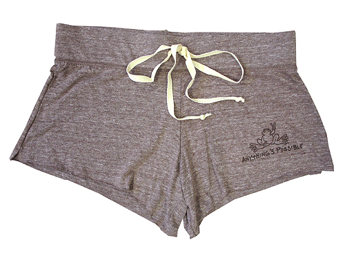"""Peace Frogs Junior Anything """"Shorty"""" Eco Heathered Short"""