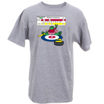 Peace Frogs Adult Curling Frog Short Sleeve T-shirt