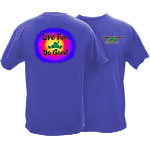 Peace Frogs Adult Do Good Garment Dye Short Sleeve T-Shirt