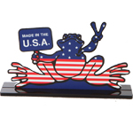 Peace Frogs Desk Stands