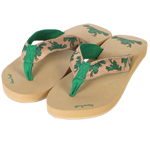 Peace Frogs Women's Surf Thong Flip Flops