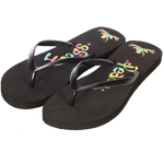 Peace Frogs Women's Zorrie Thong Flip Flops