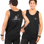Peace Frogs Rest In Peace Adult Tank Top T-Shirt